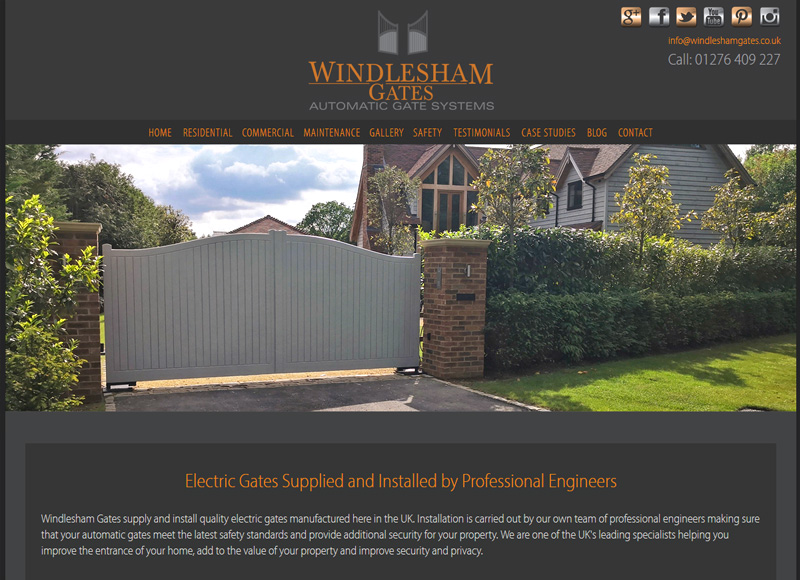 Windlesham Electric Gates - Automatic Gates Supplied and Installed