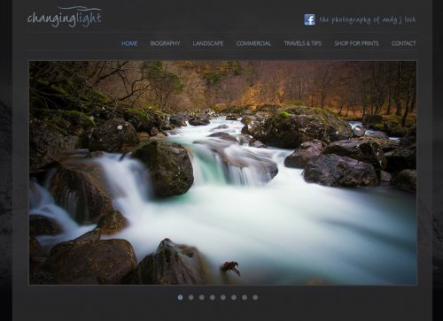 Changinglight Photography Website