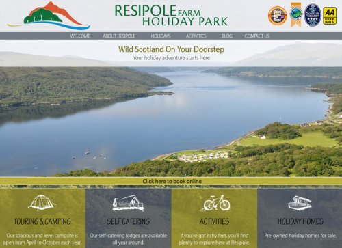 Resipole Farm Holiday Park