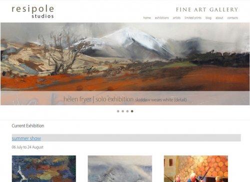 Resipole Studios Fine Art Gallery - Scotland