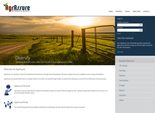 AgrAssure. The Network for Agriculture.